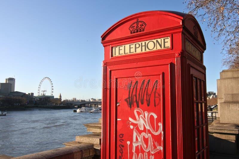 zadzwonić do Londynu zdjęcie stock