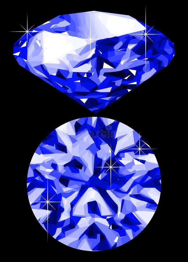 Zaffiro royalty illustrazione gratis