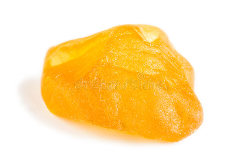 Zaffiro giallo immagini stock libere da diritti