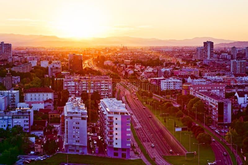 Zagabria, Croatia fotografia stock