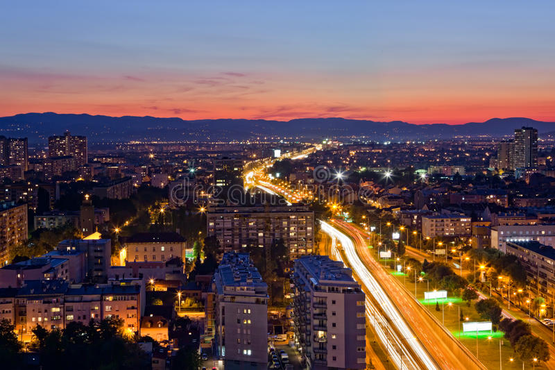 Zagabria, Croatia fotografia stock libera da diritti