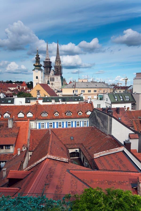 Zagabria Croatia fotografie stock