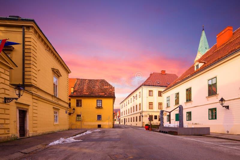 Zagabria, Croazia fotografia stock