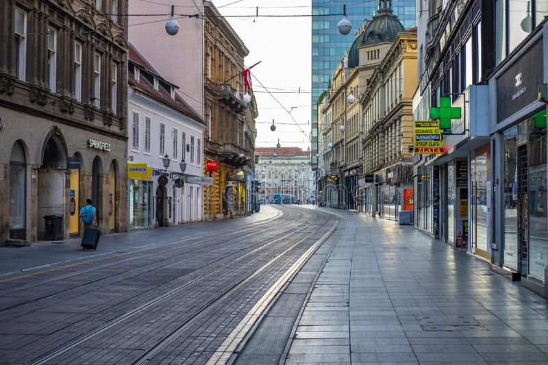 Zagabria, Croazia immagine stock