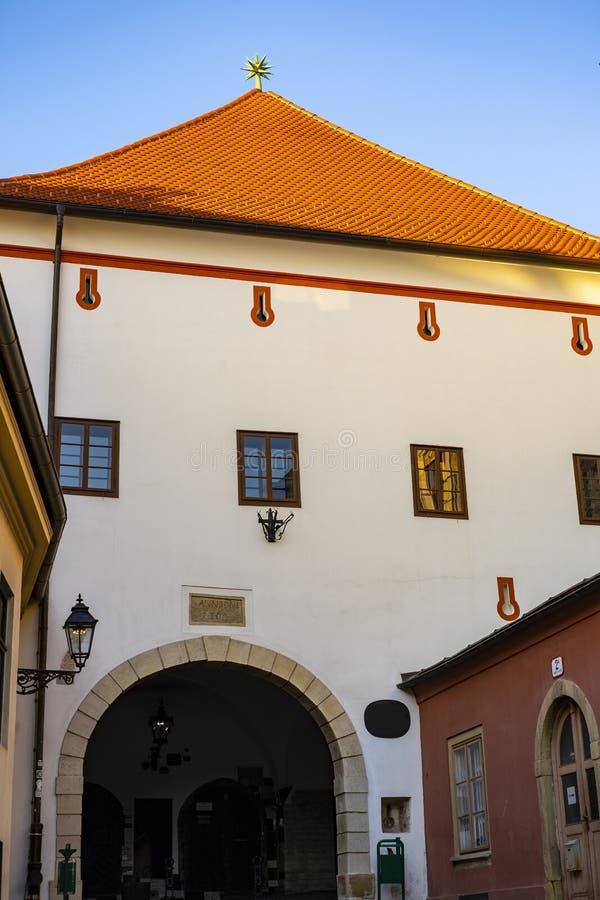 Zagabria, Croazia fotografia stock libera da diritti