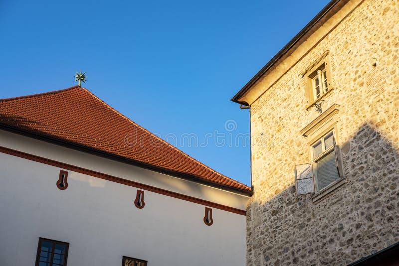 Zagabria, Croazia fotografie stock