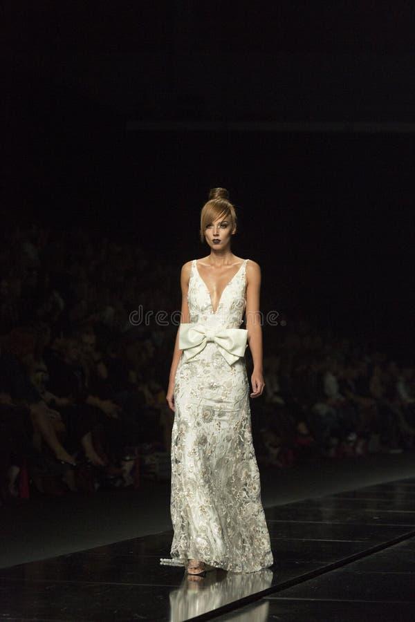 Zagabria FashionWeek fotografie stock libere da diritti
