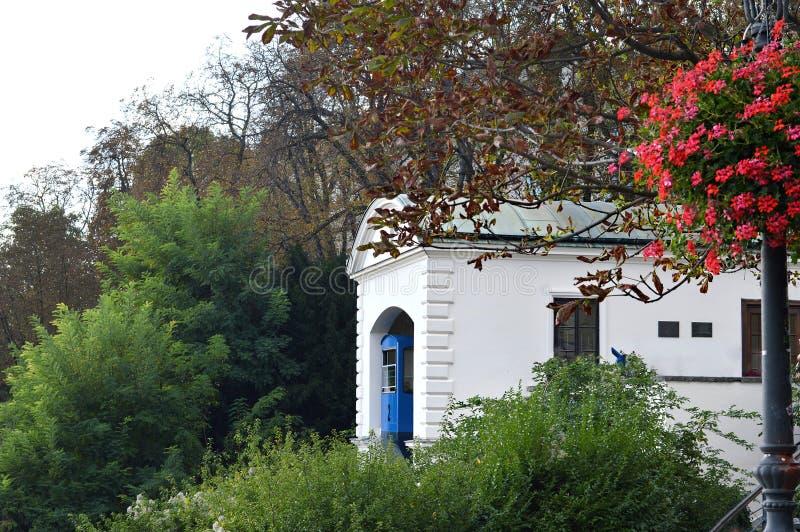 Zagabria funicolare, Croazia fotografia stock libera da diritti