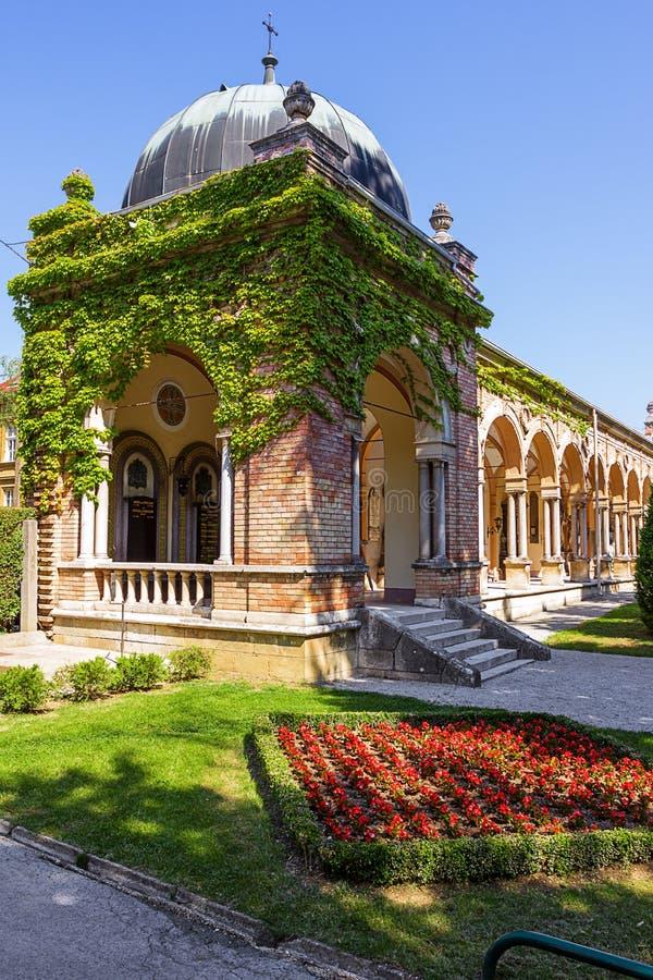 Zagabria. La Croazia. fotografie stock