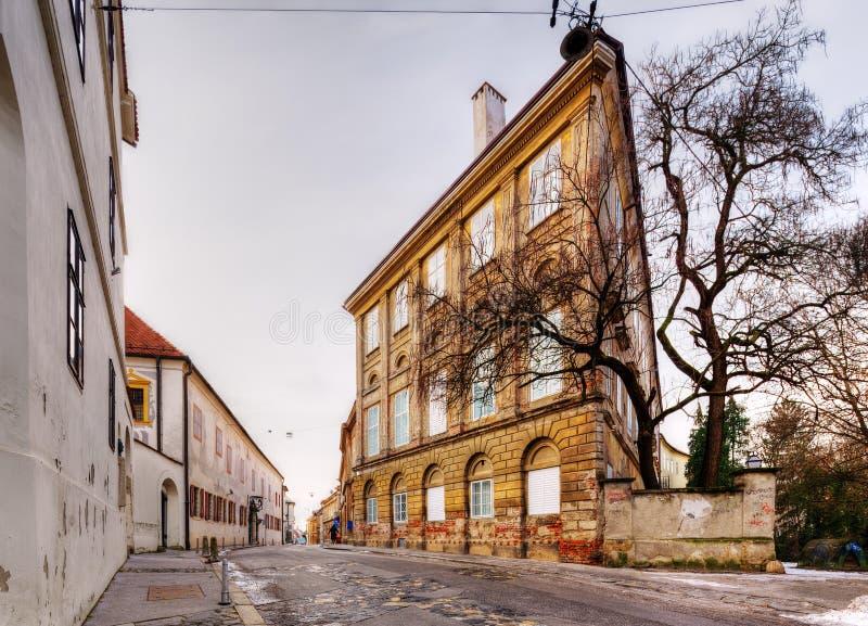 zagabria La Croazia fotografia stock
