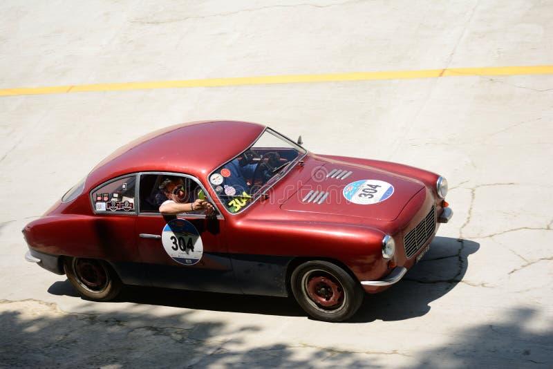 Download Zagato 1954 Fiat Coupè 1100 Chez Mille Miglia Image éditorial - Image du pilote, constructeur: 76084945