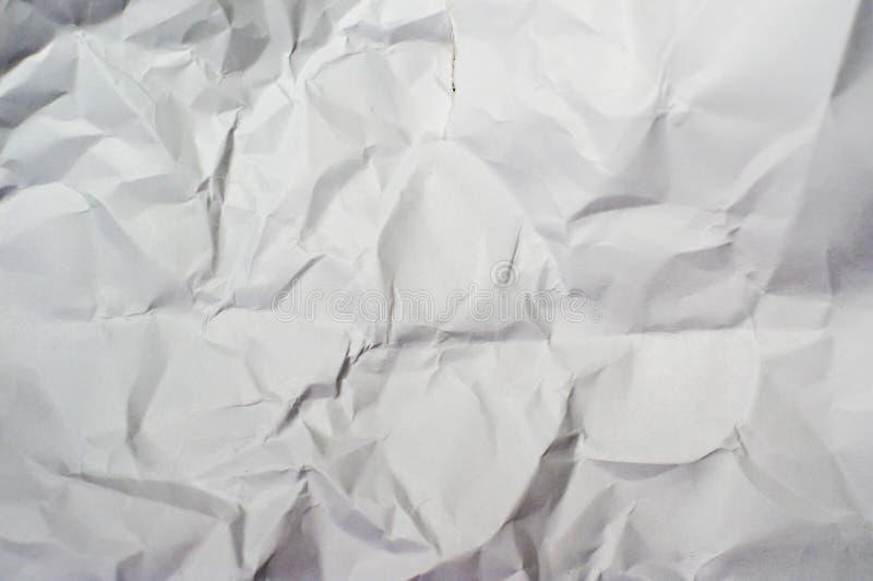 Zagniecenie papier zdjęcie stock