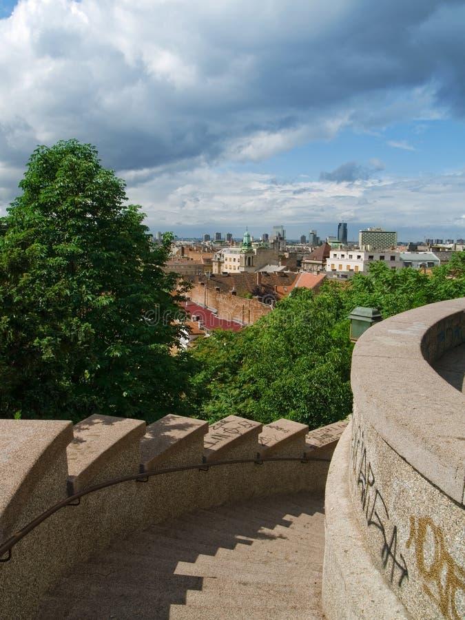Zagreb photographie stock libre de droits