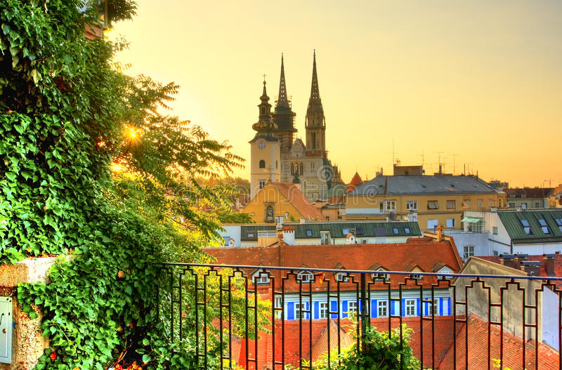 Zagreb stock photography