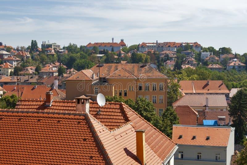 Download Zagreb cityscape stock photo. Image of blue, european - 28129378