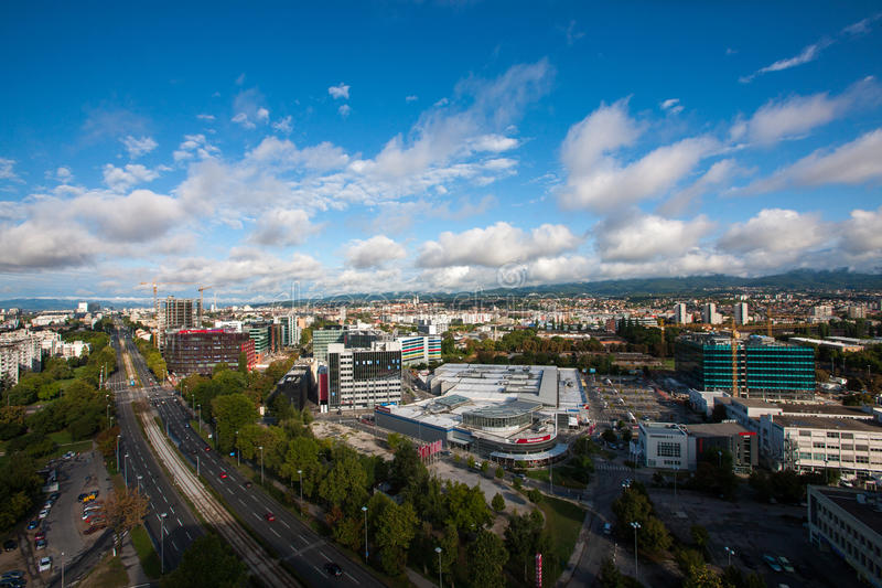 Zagreb, Croácia fotografia de stock royalty free