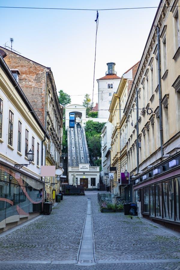 Zagreb, Cro?cia foto de stock royalty free