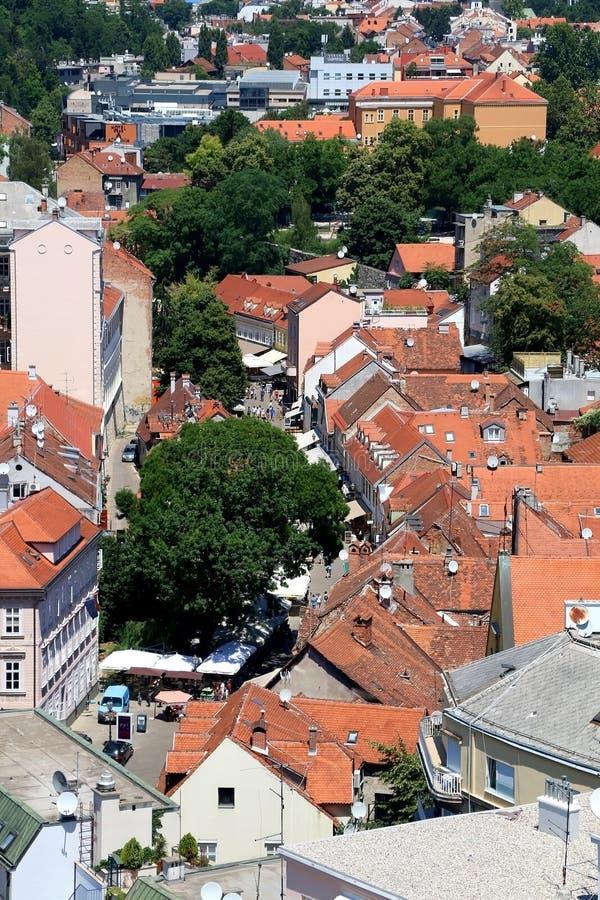 Zagreb, Croacia fotografía de archivo