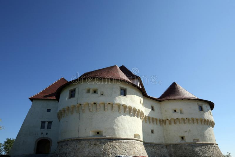 Veliki Tabor, castle in northwest Croatia stock image