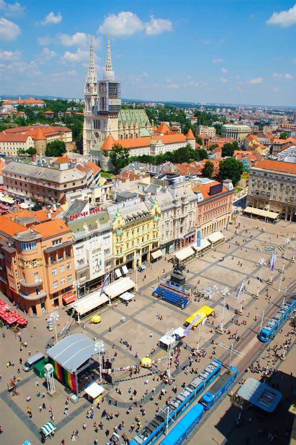 Zagreb, Croatia stock images