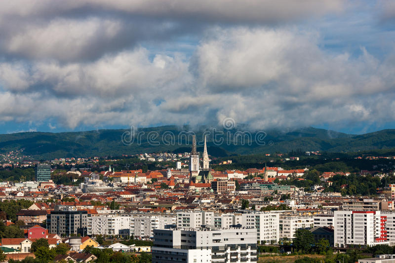 Zagreb, Croatie photo stock