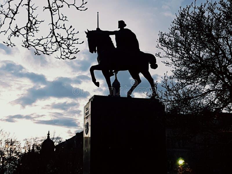 Zagreb konungtomislav royaltyfri fotografi