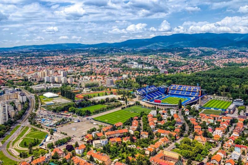 Zagreb, Kroatië stock foto