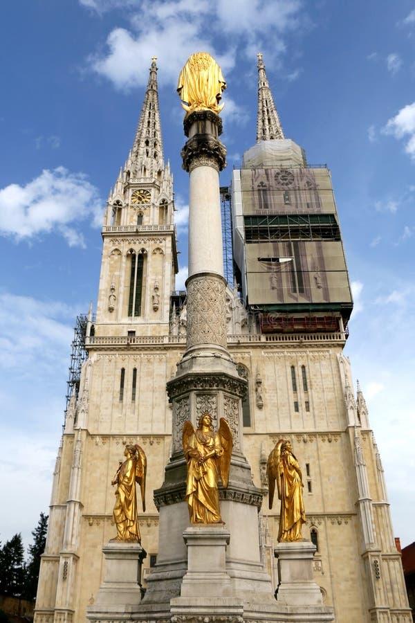 Zagreb, Kroati? royalty-vrije stock foto's