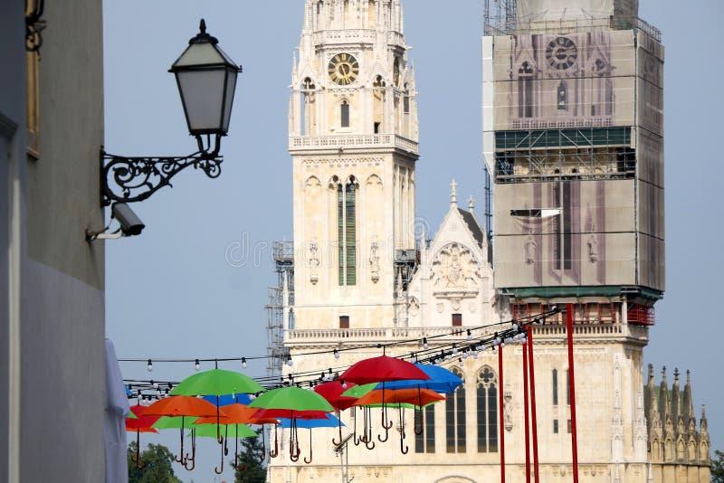 Zagreb, Kroati? stock afbeelding