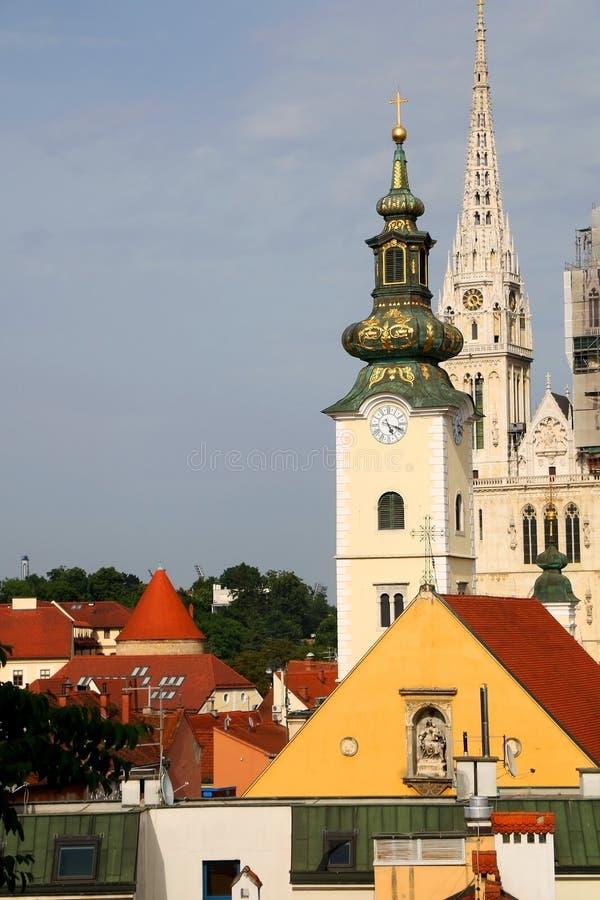 Zagreb, Kroati? stock fotografie