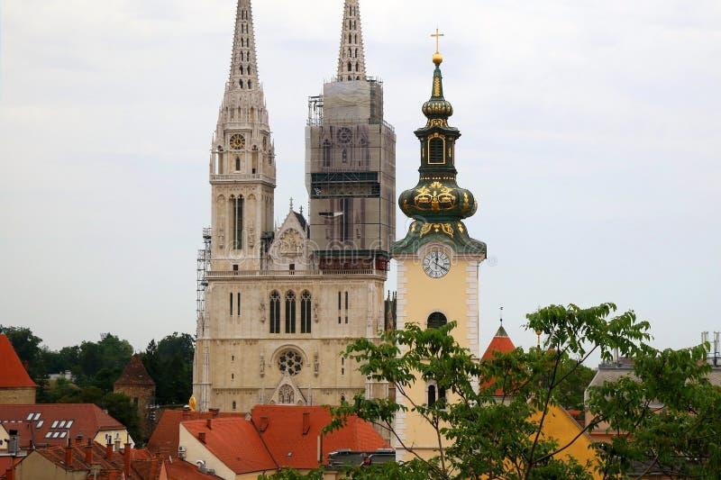 Zagreb, Kroati? stock foto's