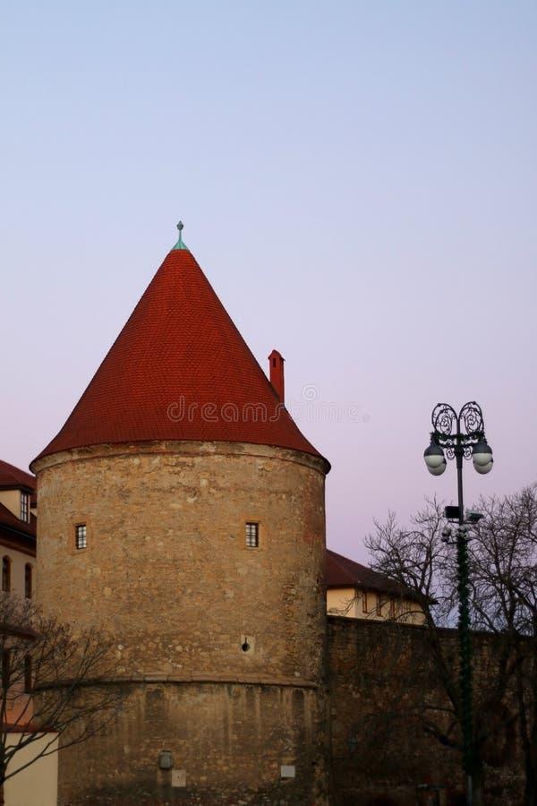 Zagreb Kroatien arkivbilder