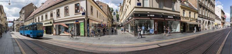 Zagreb, Kroatien stockbilder
