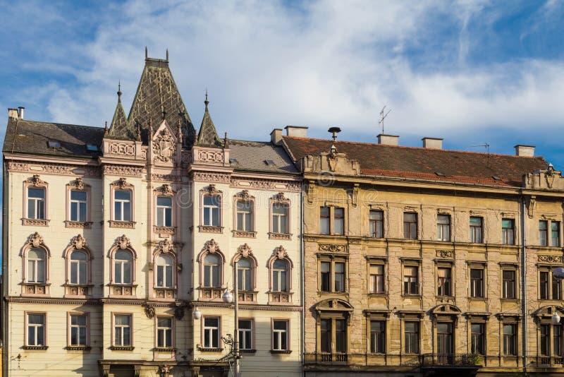 Zagreb, Kroatien stockfotos