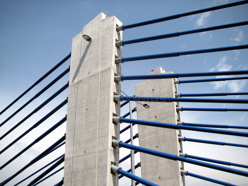 Zagreb: modern bridge