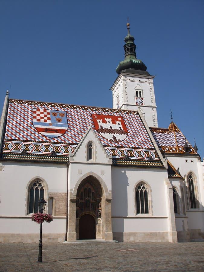 Free Zagreb, St. Marko Stock Images - 13556214