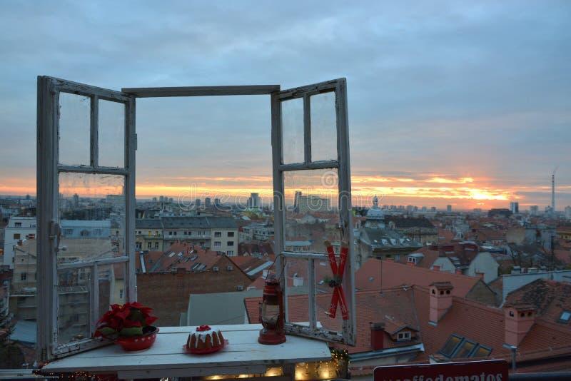 Zagreb advent,Croatia. royalty free stock photo