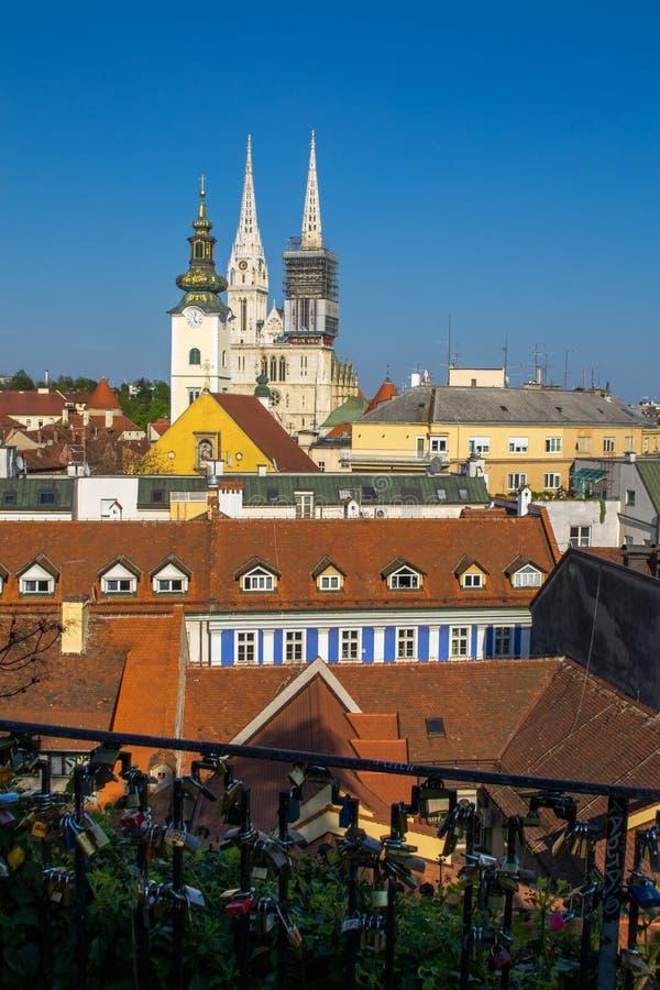 Zagreb van Upertown stock afbeelding
