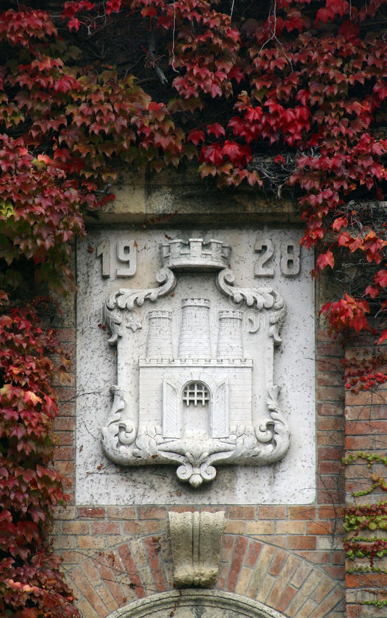Zagreb vapensköld royaltyfri bild