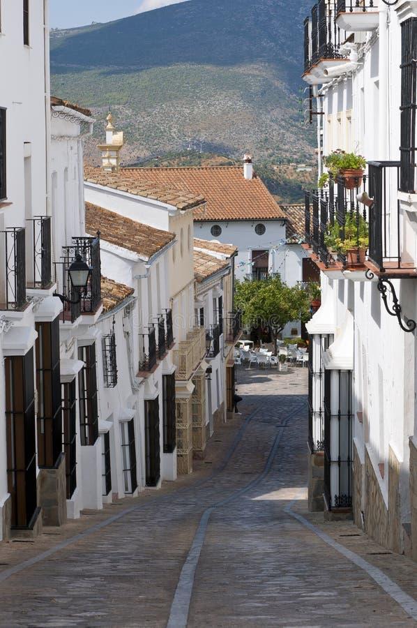 Zahara de la Serra imagens de stock