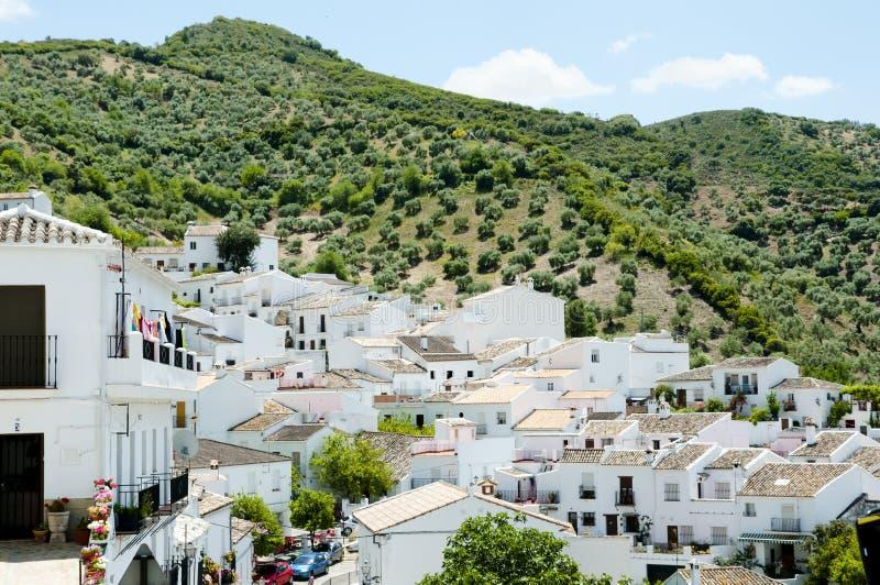 Zahara de la Sierra - la Spagna fotografia stock