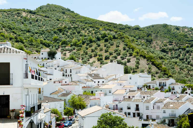 Zahara de la Sierra - Spain stock photography