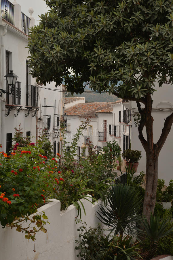 Zahara de la Sierra village, Andalusia, Spain royalty free stock photos