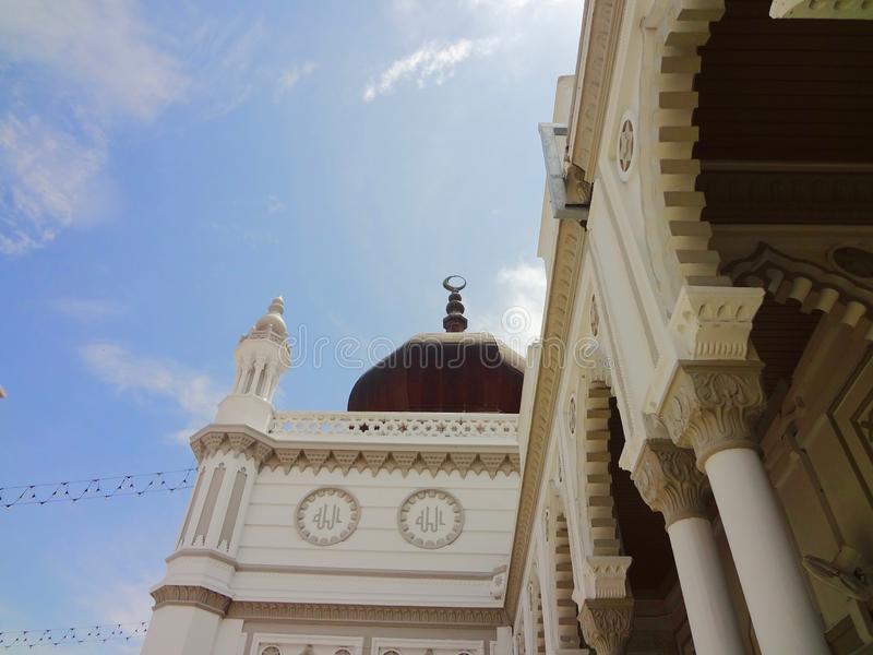 Zahir Mosque - Masjid Zahir Alor Star, Kedah Malaysia. The Zahir Mosque is a mosque in Alor Setar, Kota Setar, Kedah, Malaysia, and the state mosque of the royalty free stock photography