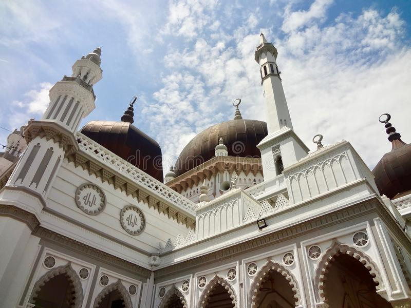 Zahir Mosque - Masjid Zahir Alor Star, Kedah Malaysia. The Zahir Mosque is a mosque in Alor Setar, Kota Setar, Kedah, Malaysia, and the state mosque of the royalty free stock photo