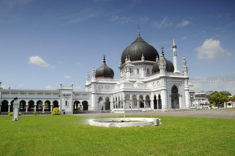 Zahir Mosque a K en Masjid Zahir i Kedah arkivbild