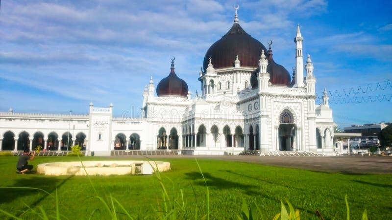 Zahir Mosque, setar Alor stock afbeelding
