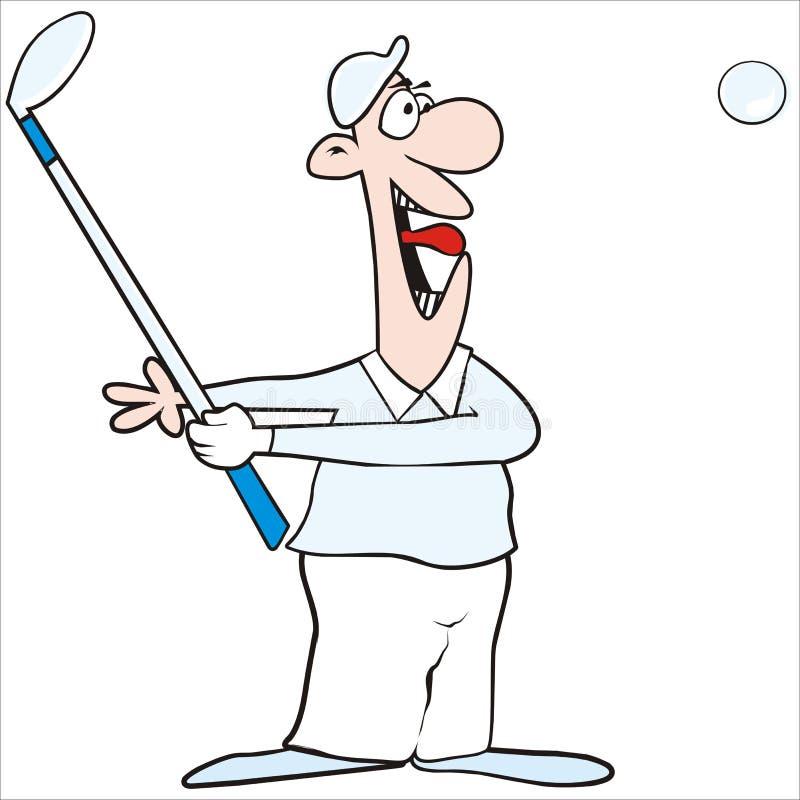 Zahl-Golf lizenzfreie abbildung