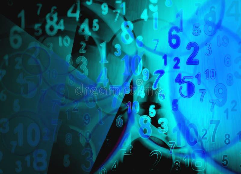 Zahl-Spiel stock abbildung