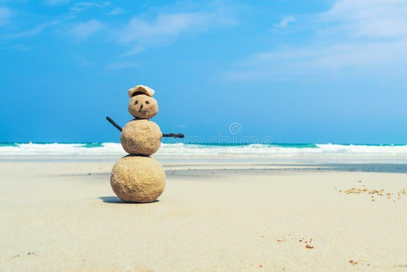 Zahl vom Sand auf der Küste stockfoto